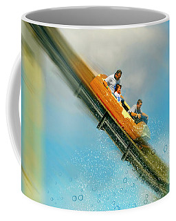Coffee Mug featuring the photograph The Flume by Diana Angstadt