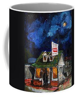 The Flush Coffee Mug by Carole Foret