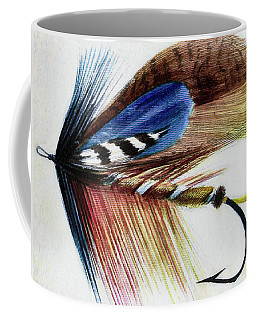 Coffee Mug featuring the digital art The Fly by Steve Taylor