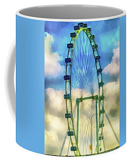 Coffee Mug featuring the photograph The Flyer by Joseph Hollingsworth