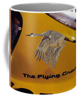 The Flying Crane Coffee Mug