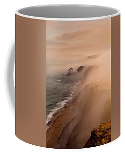 Coffee Mug featuring the photograph The Fog by Jorge Maia