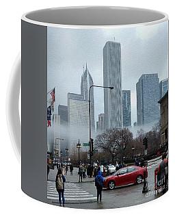 The Fog Lifts On Michigan Avenue Coffee Mug