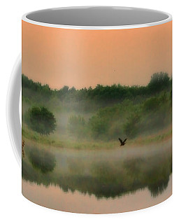 The Fog Of Summer Coffee Mug by Elizabeth Winter