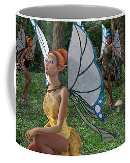 The Forest Never Tells Coffee Mug