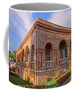 Coffee Mug featuring the photograph The Former British Consulate In Kaohsiung In Taiwan by Yali Shi