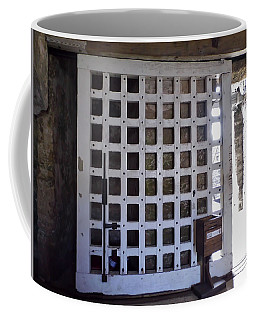 The Fort Door Coffee Mug