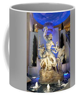 The Forum Shop Statues At Ceasars Palace Coffee Mug