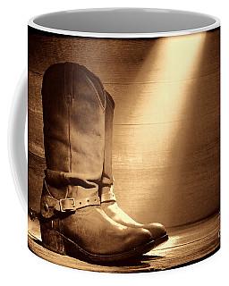 The Found Boots Coffee Mug
