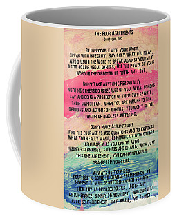 The Four Agreements 11 Coffee Mug
