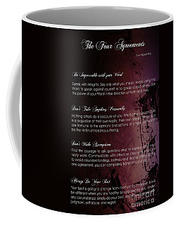 The Four Agreements 3 Coffee Mug