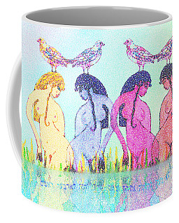 The Four Daughters Of Eve  -aka-  Four Rivers Coffee Mug