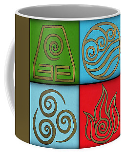 The Four Elements Coffee Mug