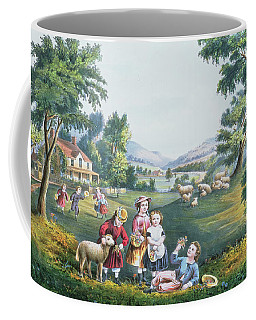 The Four Seasons Of Life Childhood Coffee Mug