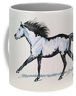 The Framed American Paint Horse Coffee Mug