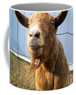 The Friendly Goat  Coffee Mug by Sandra Church