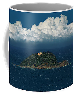 Coffee Mug featuring the photograph The Gallinara Turtle - La Tartaruga Gallinara - Libro by Enrico Pelos