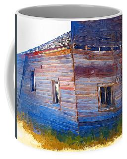 Coffee Mug featuring the photograph The Garage by Susan Kinney