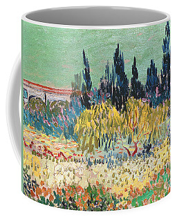 The Garden At Arles  Coffee Mug