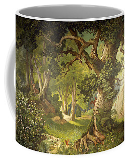 The Garden Of The Magician Klingsor, From The Parzival Cycle, Great Music Room Coffee Mug