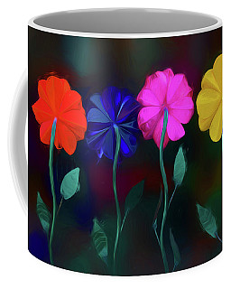 Coffee Mug featuring the photograph The Garden by Paul Wear