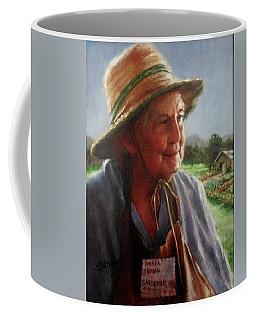 The Gardener Coffee Mug by Janet McGrath