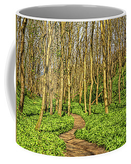 Coffee Mug featuring the photograph The Garlic Forest by Roy McPeak