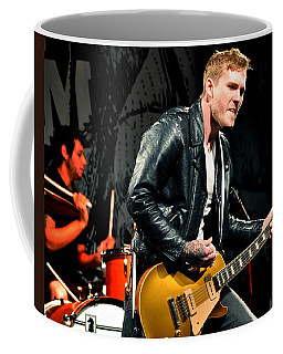 Coffee Mug featuring the photograph The Gaslight Anthem by Jeff Ross