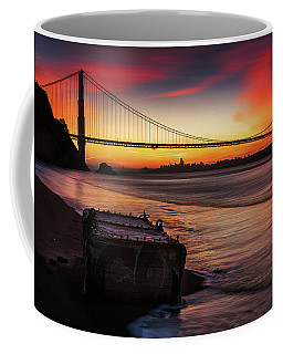 The Gate Of Gold  Coffee Mug