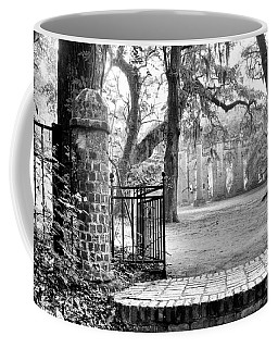 The Gates Of The Old Sheldon Church Coffee Mug