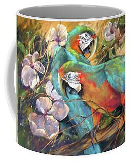 The Gathering Coffee Mug by Rae Andrews