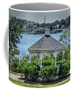 Coffee Mug featuring the photograph The Gazebo by Tom Prendergast