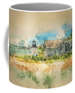 The Geese Came Too Hyannis Coffee Mug by Jack Torcello