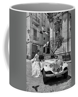 The Runway Bride.taranto. Italy.bw Coffee Mug