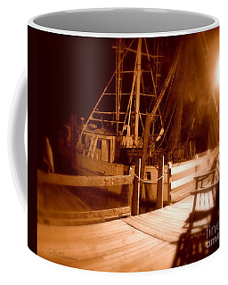 Coffee Mug featuring the photograph The Ghost Ship by Patricia L Davidson