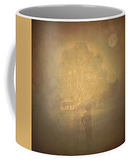 The Ghost Turns Away Coffee Mug