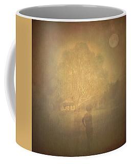 The Ghost Turns Away Coffee Mug