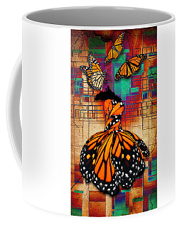 Coffee Mug featuring the mixed media The Gift Of Life by Marvin Blaine