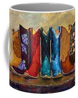 The Girls Are Back In Town Coffee Mug