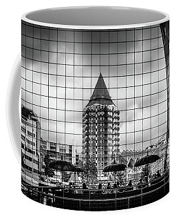 Coffee Mug featuring the photograph The Glass Windows Of The Market Hall In Rotterdam by RicardMN Photography