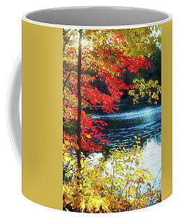 The Glory Of A New England Autumn Coffee Mug