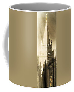 Coffee Mug featuring the photograph The Glory Of The Lord Shone Round About by Greg Collins
