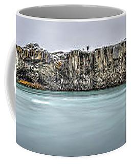 The Godafoss Falls Pano Coffee Mug
