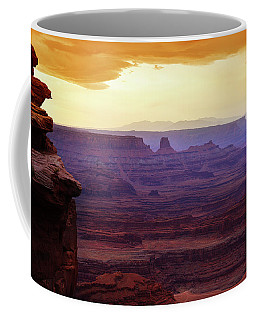The Gold Light Of Dawn Coffee Mug