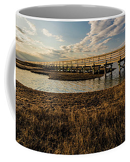 The Golden Boardwalk Coffee Mug