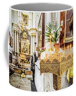 The Golden Candle Stand Coffee Mug