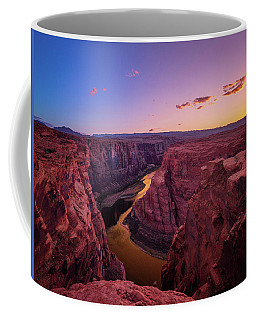 Coffee Mug featuring the photograph The Golden Canyon by Edgars Erglis