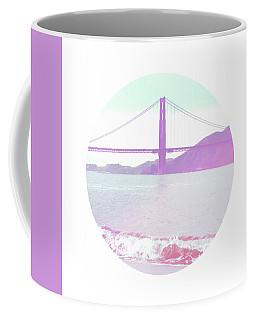 The Golden Gate- Art By Linda Woods Coffee Mug