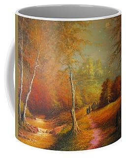 Golden Forest Of The Elves Coffee Mug