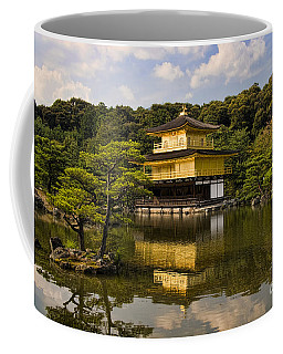 The Golden Pagoda In Kyoto Japan Coffee Mug by David Smith